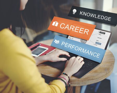 fulfilment: Career Performance Knowledge Word Concept