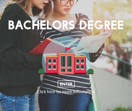Academic College Bachelor Degree Admission Concept