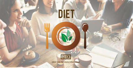 nutrition health: Diet Nutrition Health Food Healthy Eating Website Concept