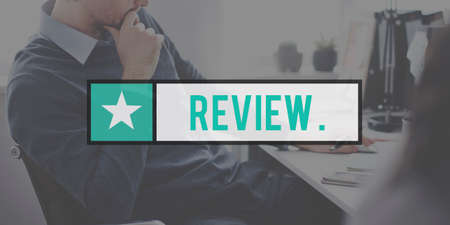 review: Review Evaluation Audit Check Concept