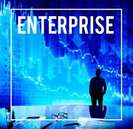 franchise: Enterprise Franchise Industry Company Concept Stock Photo