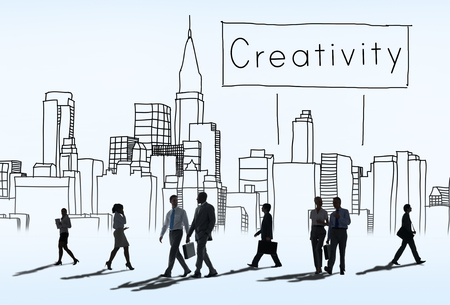 rush hour: Creativity Design Drawing Ideas Cityscape Concept