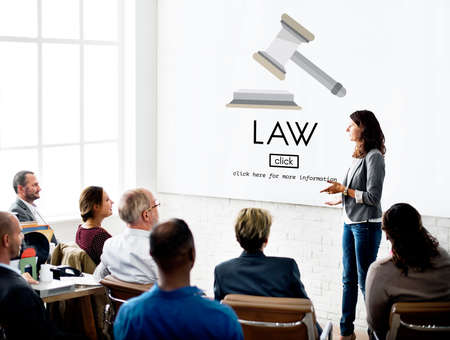 governance: Law Lawyer Governance Legal Judge Concept