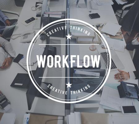 effective: Workflow Effective Productive Efficiency Concept
