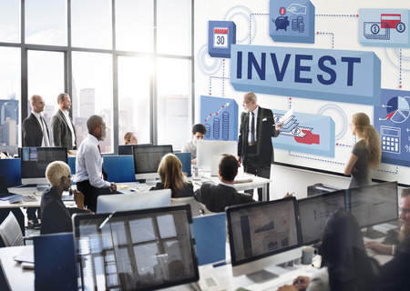 invest: Invest Investment Financial Budget Costs Concept