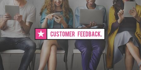 suggestions: Customer Feedback Questions Reply Information Concept
