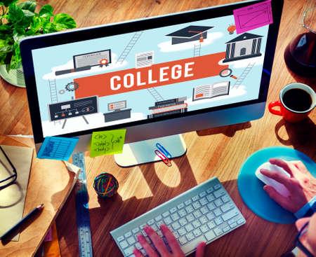 institution: Collage Academic Education Institution Concept