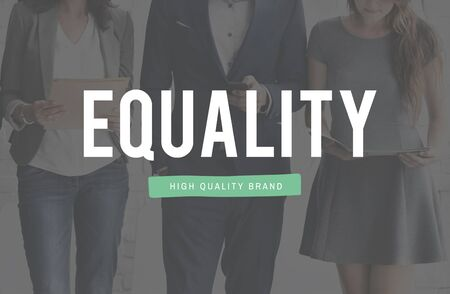 fairness: Equality Fairness Rights Impartial Concept Stock Photo