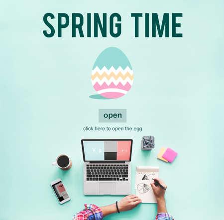 business media: Spring Time Seasonal Bloom Freshness Concept Stock Photo