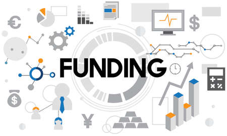fund: Funding Cash Collection Economy Finance Fund Concept Stock Photo