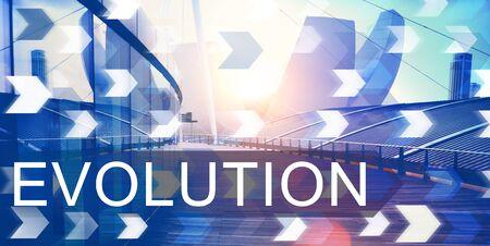 revision: Evolution Revision Innovation Development Evolve Concept