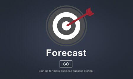 foretell: Forecast Estimate Future Planning Predict Strategy Concept