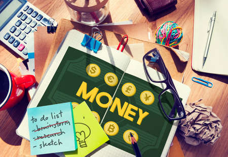 ganancias: Money Assets Banking Capital Currency Earnings Concept Foto de archivo