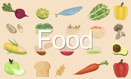 calories: Food Calories Dining Drinking Eating Nutrition Concept Stock Photo