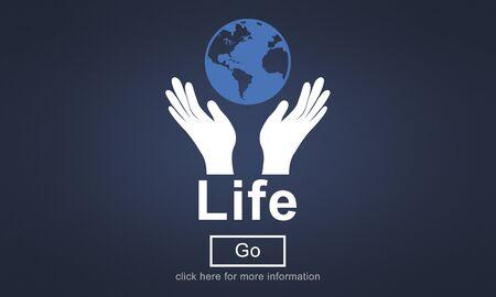 life balance: Life Balance Being Birth Breath Healthy Simple Concept