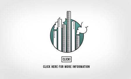 atmosfera: Contaminaci�n de la f�brica Industria Ambiente Click Concepto