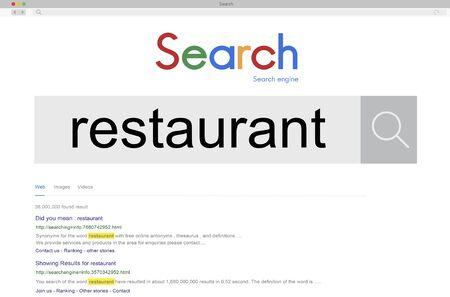 bistro: Restaurant Cuisine Cooking Cafeteria Chef Bistro Concept