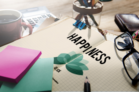 enjoyment: Happiness Enjoyment Recreation Relaxation Positivity Concept