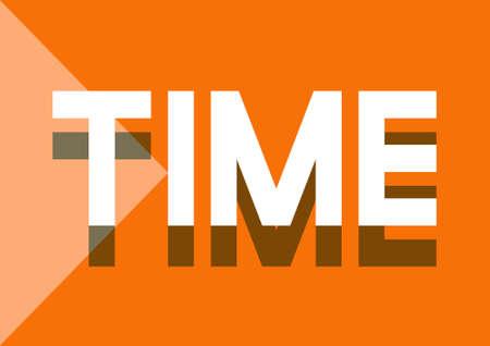 Gestion du temps Ponctuel Durée Schedule Concept