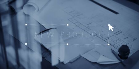 New Product Innovation Launch Marketing Goederen Concept
