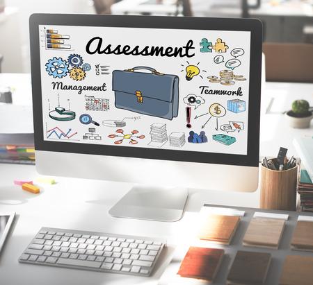 review: Assessment Evaluation Review Examination Concept