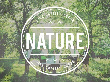 round collar: Nature Environmental Conservation Organic Concept