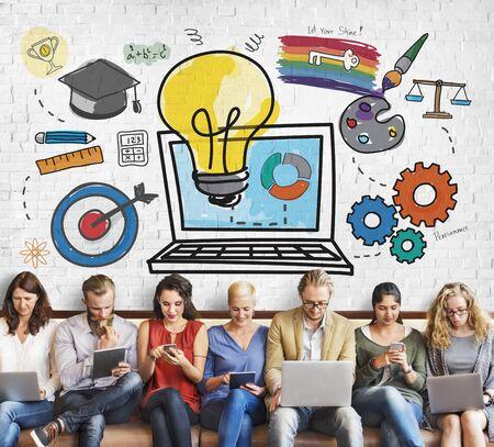 Idea inspiración aspiración Fuentes de datos Concepto Ideas