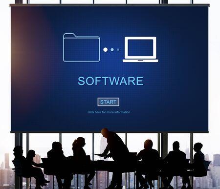 hardware: Software Application Hardware Development Digital Concept