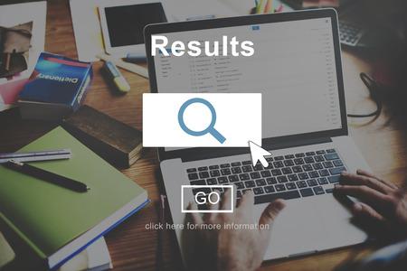 outcome: Results Outcome Effect Productivity Assessment Achievement Concept