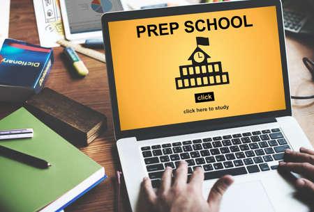 PrEP: Prep School Education Preparation Academy Concept