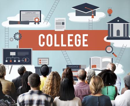 associate: Collage Academic Education Institution Concept