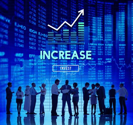 Increase Enlarge Expand Extend Growth Rise Concept 版權商用圖片