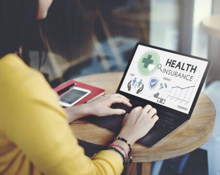 medical expenses: Health Insurance Assurnace Medical Risk Safety Concept