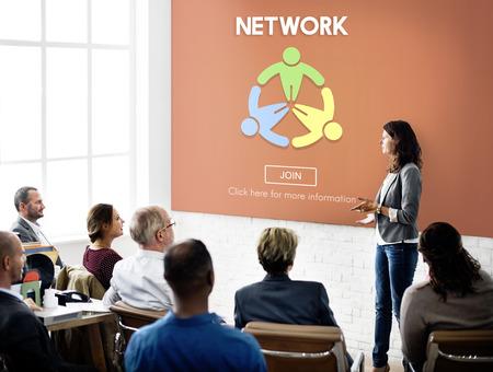 diversity domain: Network Computer Connection Internet Domain Concept