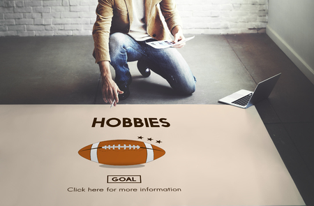 hobbies: Hobbies Hobby Interest Leisure Pleasure Passion Concept