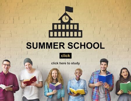 words of wisdom: School Summer Wisdom Knowledge Education Concept Stock Photo