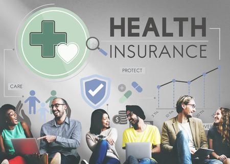 Krankenversicherung Assurnace Medical Risikosicherheitskonzept