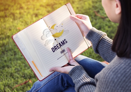 taget: Dreams Goal Taget Aspirations Inspiration Expectation Concept Stock Photo