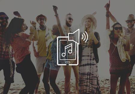 playlist: Playlist Music Album Track Audio Listen Stereo Sound Concept