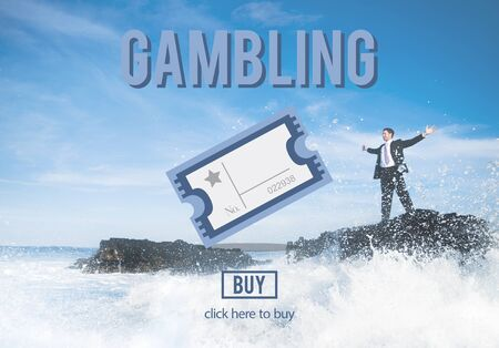 getting away from it all: Gambling Betting Bet Jackpot Lottery Lucky Concept