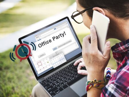 office party: Office Party Business Commercial Entertainment Concept