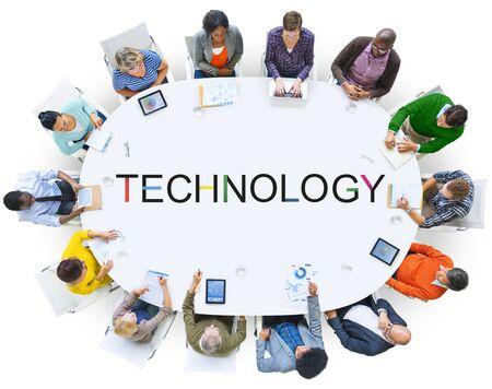 Innovazione tecnologica Evoluzione tech concetto di innovativo
