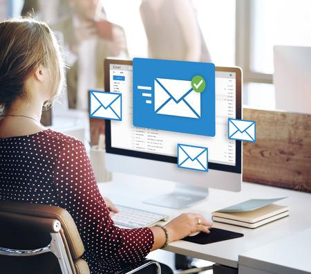 Message Chat Online Social Concept texte Banque d'images - 56248967
