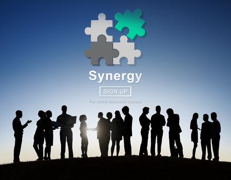 Synergy zespołowa Better Together Współpraca Praca