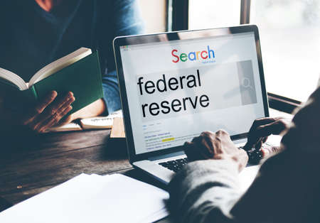 reserve: Federal Reserve Currency Economy Financial Concept