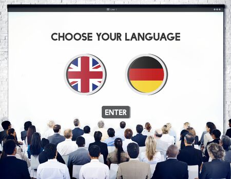 german ethnicity: Language Dictionary English German Concept