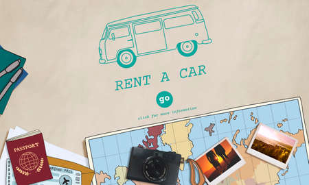 rental: Rent Car Borrow Available Lease Renting Rental Concept