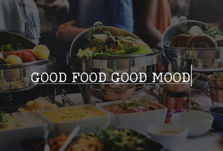plato del buen comer: Delicacy Healthy Lunch Fine Dining Food Delicious Concept Foto de archivo