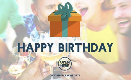 on occasion: Happy Birthday Event Occasion Anniversary Concept Stock Photo