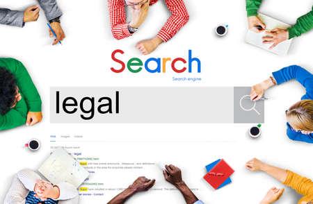 legitimate: Business Team Meeting Brainstorming Search Concept Stock Photo
